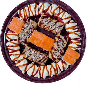 Суши-торт Лосось