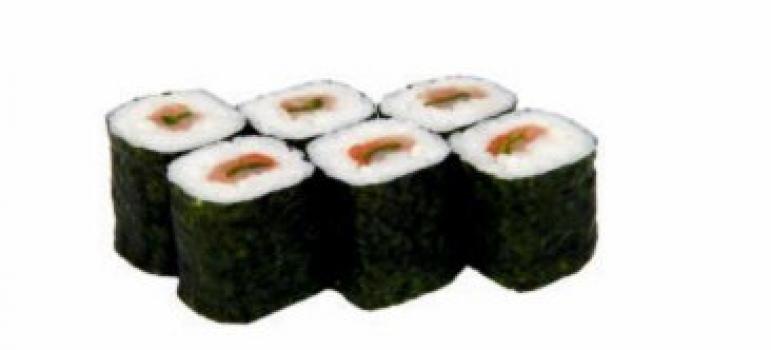 Ролл копченый лосось