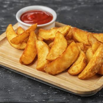 Картофель Айдахо + кетчуп