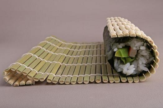 Бамбуковый коврик для суши ( Циновка ) (27смх27см)