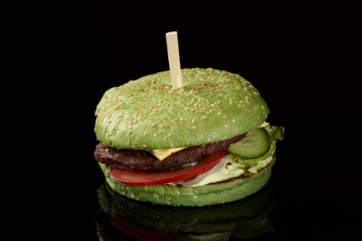 Бургер Зелёный дракон