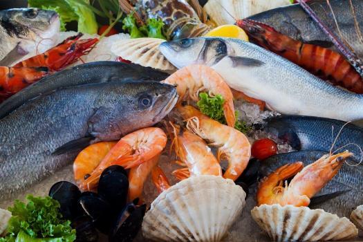 Очищенная рыба и морепродукты по предзаказу