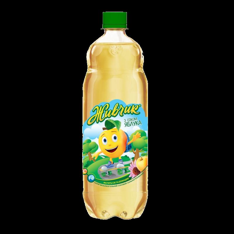 """Напиток с соком яблока ТМ """"Живчик"""""""