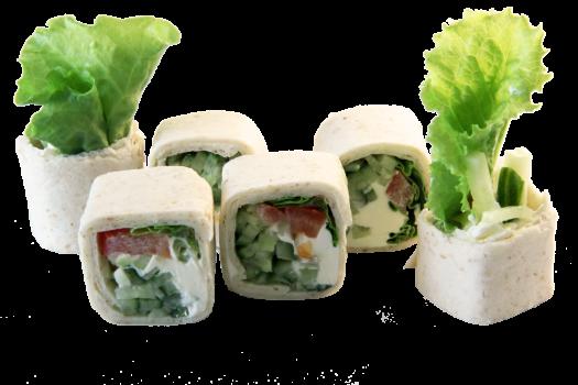 Ролл Бункасай с овощами