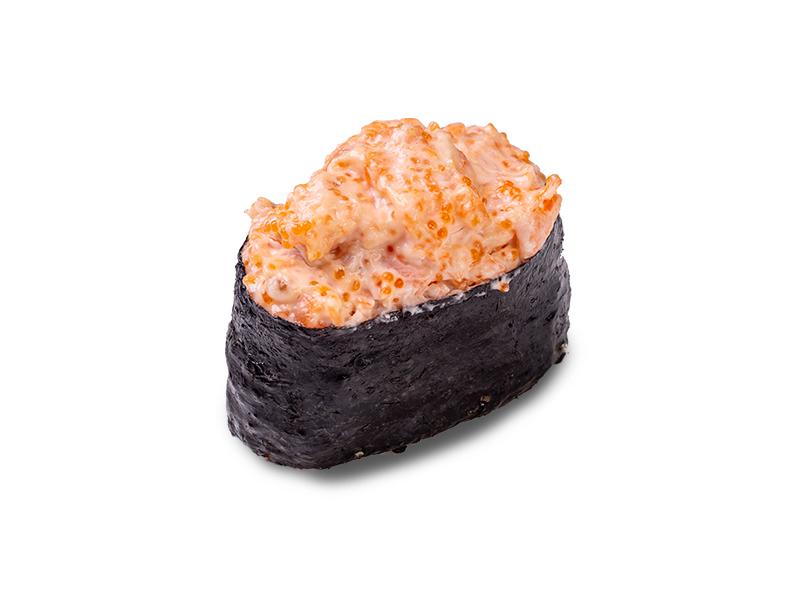 Суши с креветкой запеченные