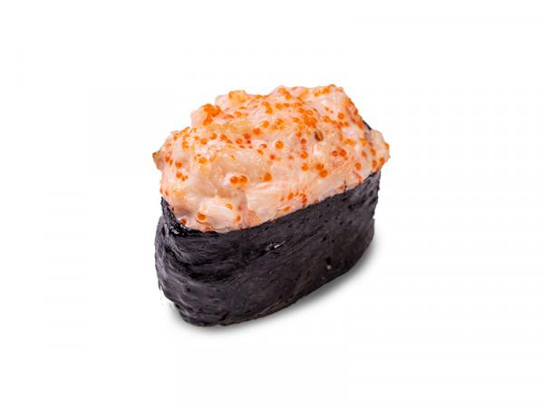 Суши с лососем запеченные