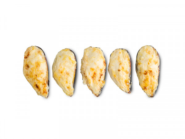 Мидии в ореховом соусе