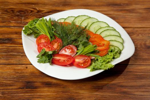 Овощи к мясу