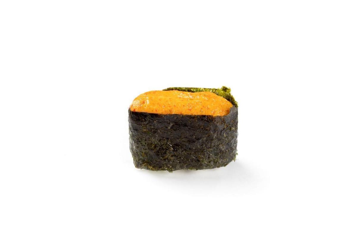 Гункан лосось запеченные