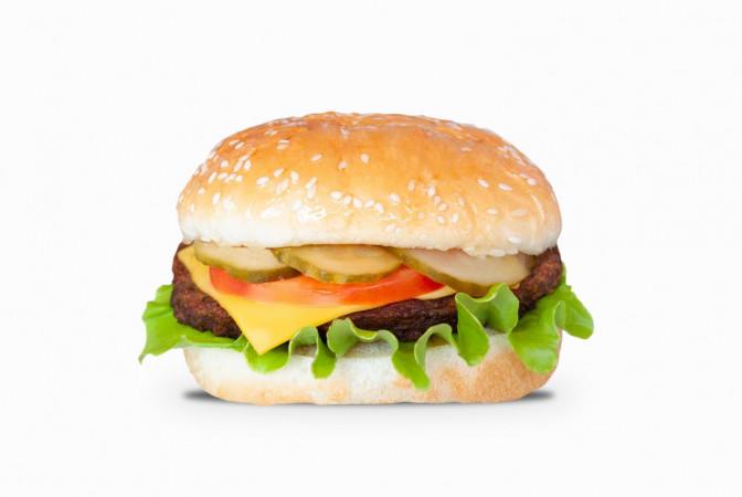 Большой чизбургер