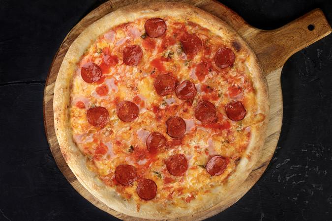 Мясная пицца 33