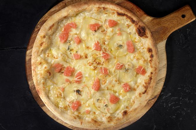 Пицца с грушей 33