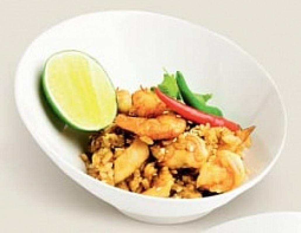 Тайский рис с морепродуктами