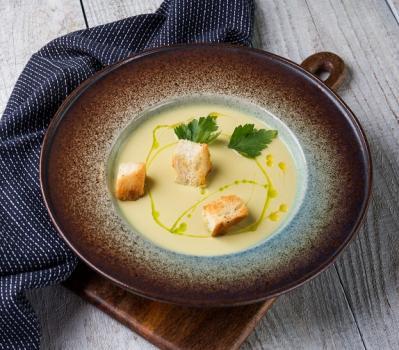 Крем-суп из кабачка