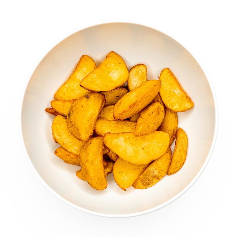 Картофельные дольки в специях