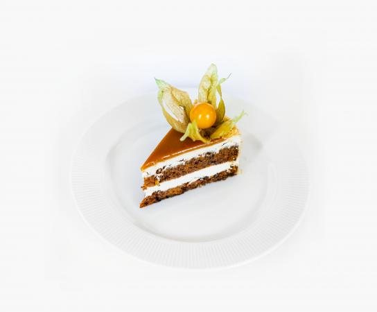 Торт морковно-карамельный