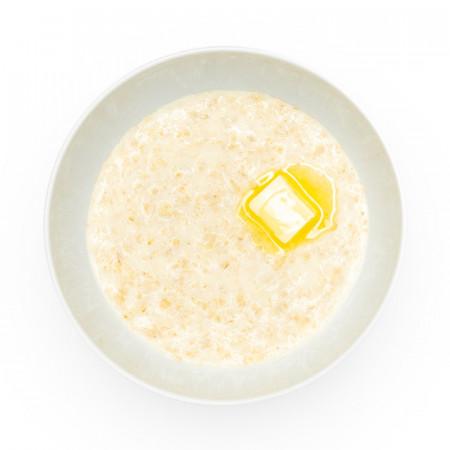 Каша овсяная на молоке