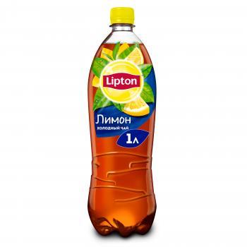 Холодный чай lipton лимон