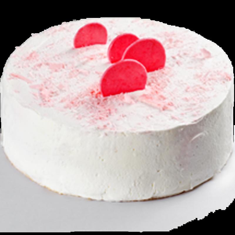 Сырно-клубничный кейк