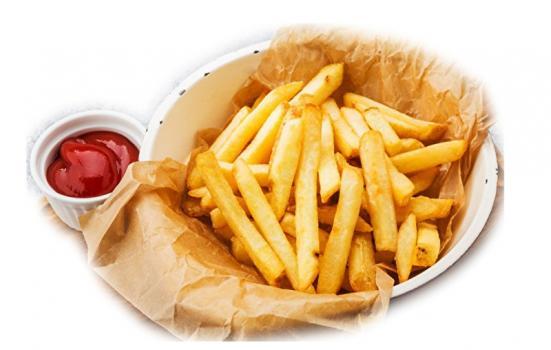 картофель фри 100г
