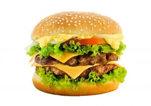 бургер двойной с курицей
