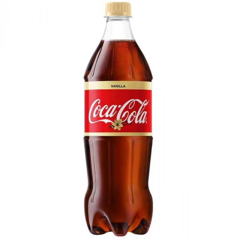 Coca-cola Vanilla 0,5 л + вторая Coca-cola 0,5 л в подарок