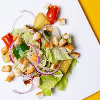 Салат с запеченным картофелем + второй салат в подарок