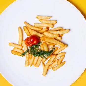 Картофель фри + второе фри в  подарок