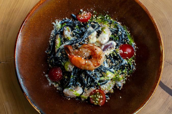 Фрутти ди маре с морепродуктами