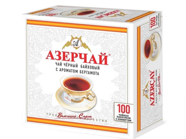 Чай Азерчай Краснодарский 100 пакетиков