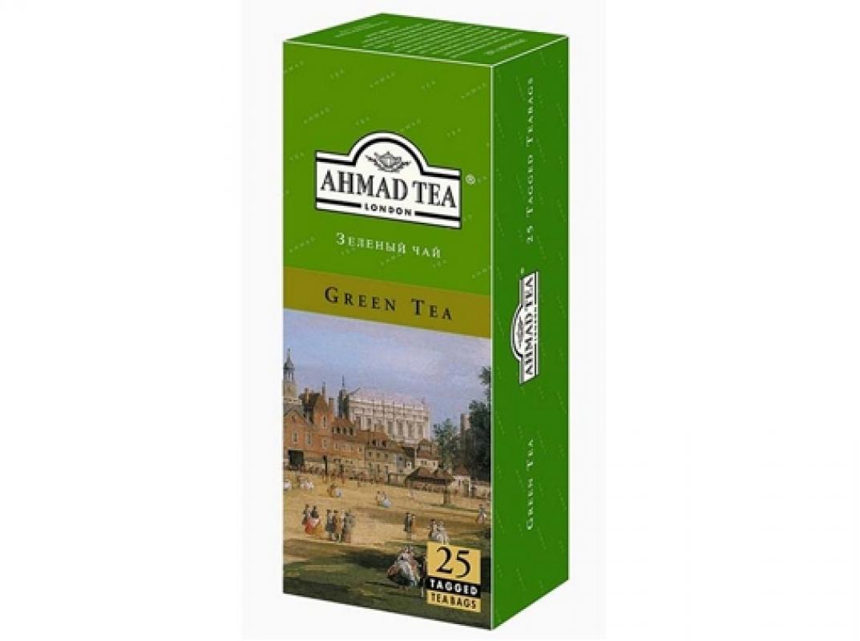Чай Ahmad зеленый 25 пакетиков