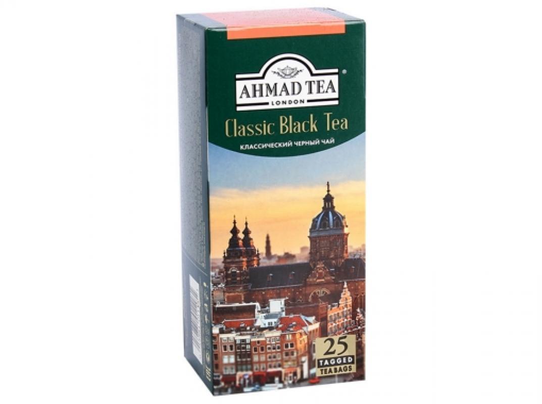 """Чай Ahmad """"Классический"""" 25 пакетиков"""