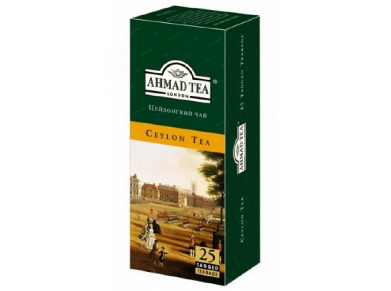 "Чай Ahmad ""Цейлонский"" 25 пакетиков"