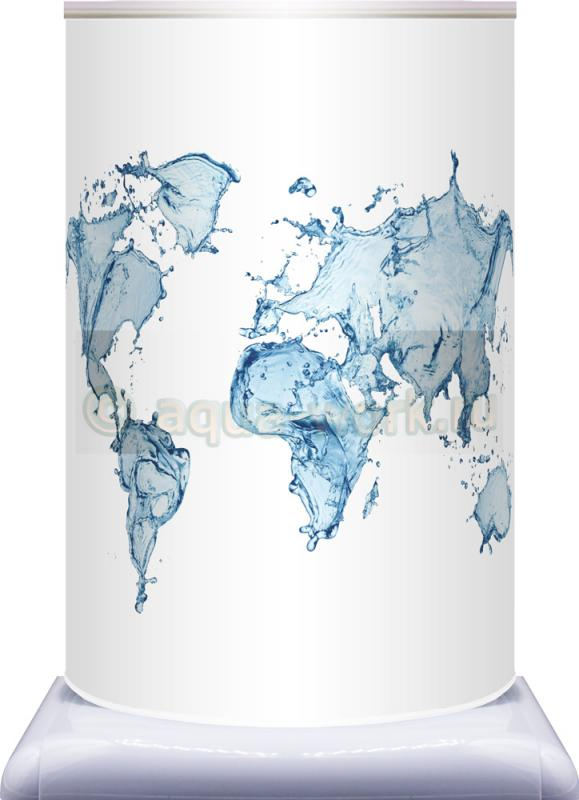 "Чехол на бутылку 19 л ""Карта мира"""