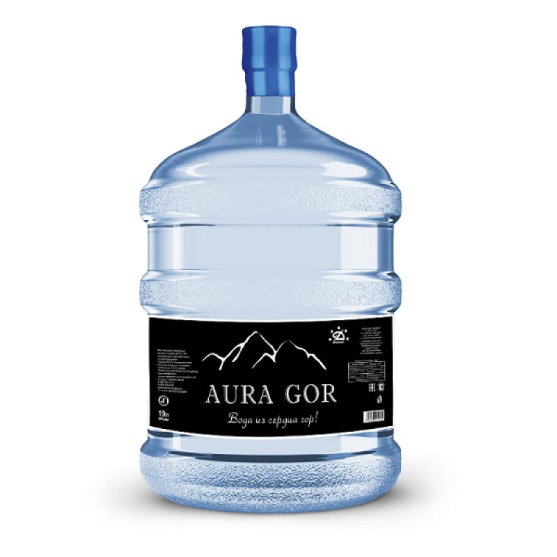 """Природная питьевая вода """"Аура Гор"""" 19 л"""