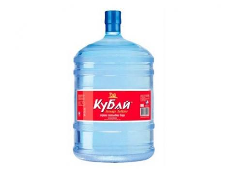 Природная питьевая вода «Кубай» 19 л