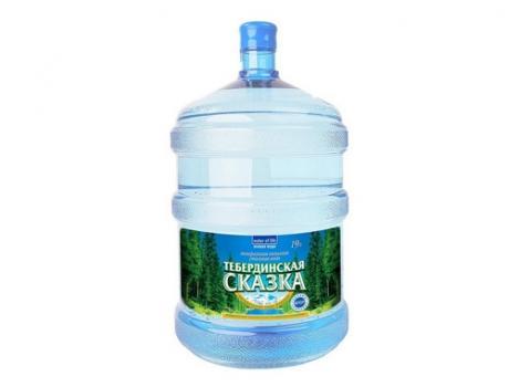 Природная питьевая вода «Тебердинская Сказка» 19 л