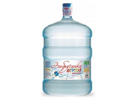 Природная питьевая вода детская «Эльбрусинка» 19 л