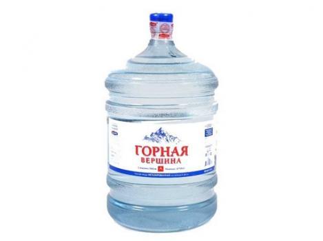 Природная питьевая вода «Горная вершина» 19 л