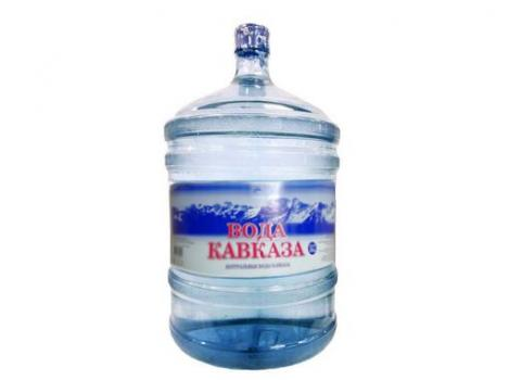 Природная питьевая вода «Вода Кавказа» 19 л