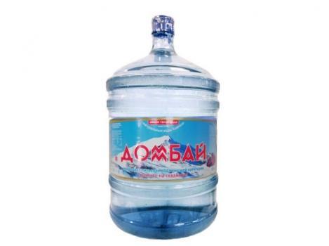 Природная питьевая вода «Домбай» 19 л
