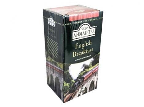 """Чай Ahmad """"Английский завтрак"""" черный 25 пакетиков"""