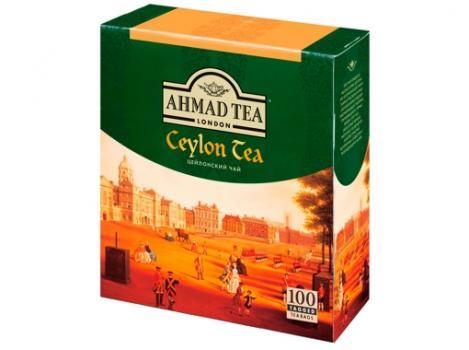 "Чай Ahmad ""Цейлонский"" 100 пакетиков"