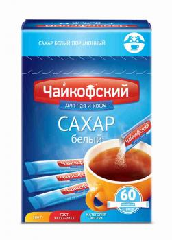 "Сахар ""Чайковский""  60 стиков * 5 гр"