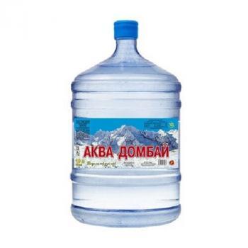 Природная питьевая вода «Аква Домбай» 19 л
