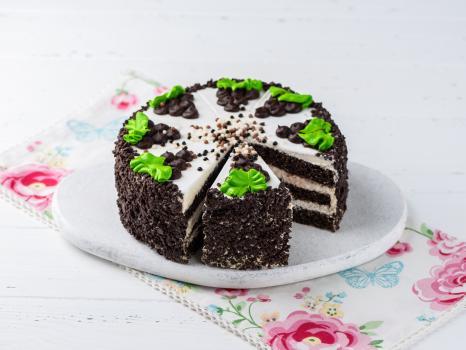 Кусочек торта Черёмуховый