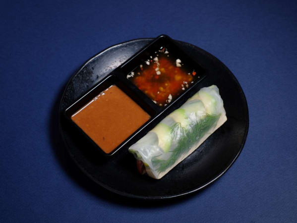 Спринг-ролл с тофу