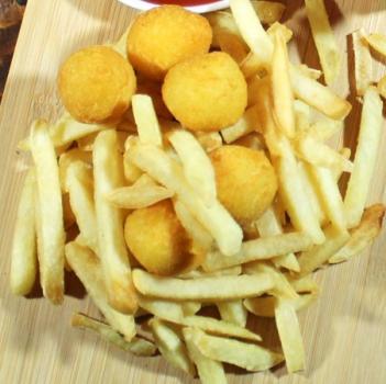 картофель фри на завтрак
