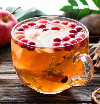 холодный чай фруктовый