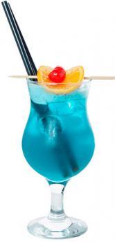 """коктейль """"голубая лагуна"""" б/алкогольный"""